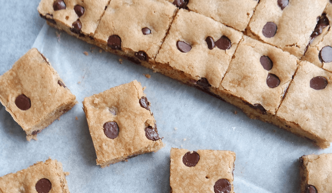 Chocolate Chip Blondies That Melt in Your Mouth